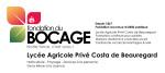 CHAMBERY – LYCEE – COSTA DE BEAUREGARD (Lycée Agricole Privé)